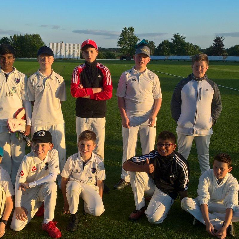 KCC under 13s in Oxfordshire Cricket newsletter