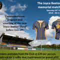 Joyce Beeton Memorial Game