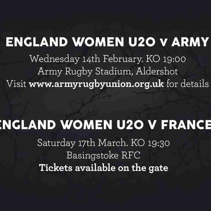 England Women U20 V France Women U20