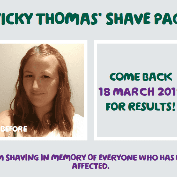 Braving the shave for cancer