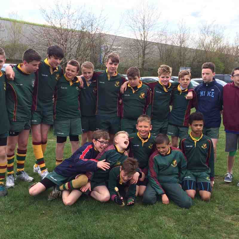 Under 12 v Nuneaton RFC - 19th April 2015