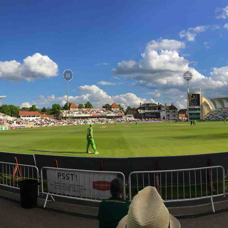 Club Outing to Trent Bridge- Sunday 14th May 2017