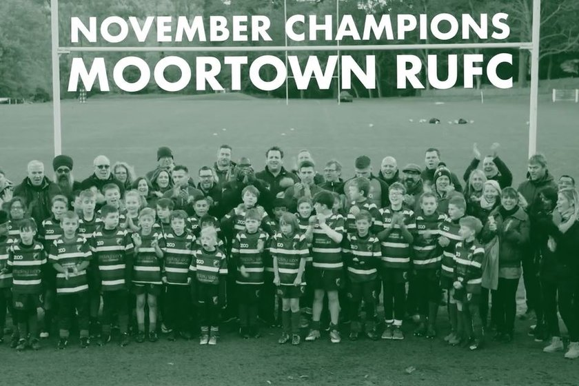 Ugo Monye and England Rugby stars surprise Moortown RUFC