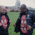 Ugo Monye and Charlie Hodgson surprise Wigan RUFC