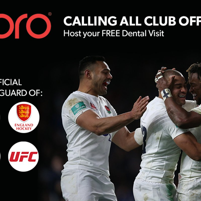 Book your OPRO mouth guard day!