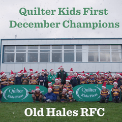Quilter Kids First Champions winner – December: Old Hales RFC