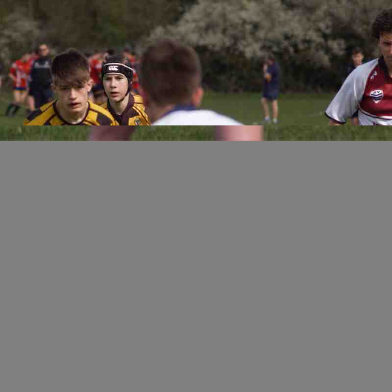 U14's v Loughborough RFC - 2nd April 2017