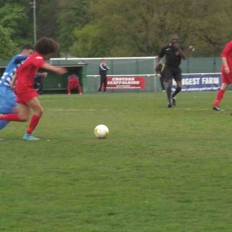 Epsom & Ewell v North Greenford United 22/4/17 (Home)