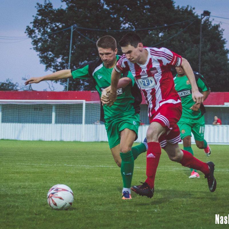Bowers Battle to Dagenham Draw