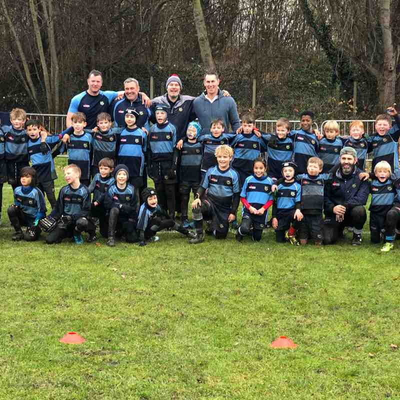 Eagles - under 9s training December 2017