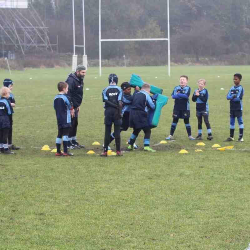 Eagles - under 9s training December 2017