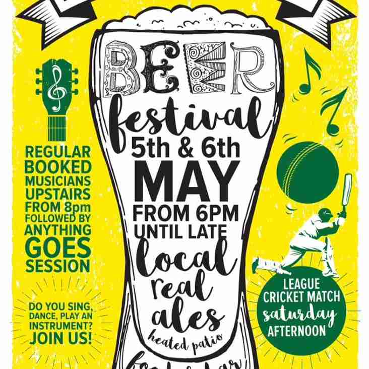 Beer Festival 5th & 6th May