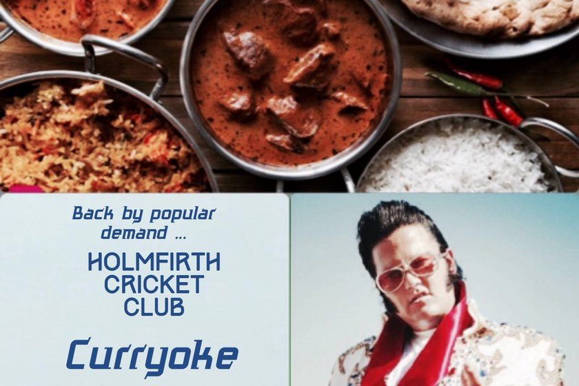 Curry-Oke Friday 22nd June After Junior Training.