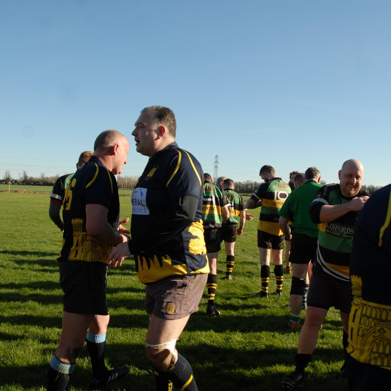 "Thorney ""Old Monks"" Vs Deepings ""Dinosaurs"" 25th March 2016"
