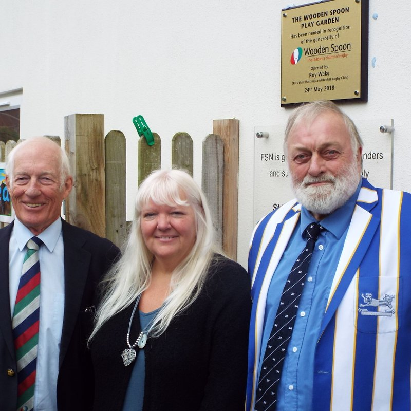 Playground Opened by The Wooden Spoon Society