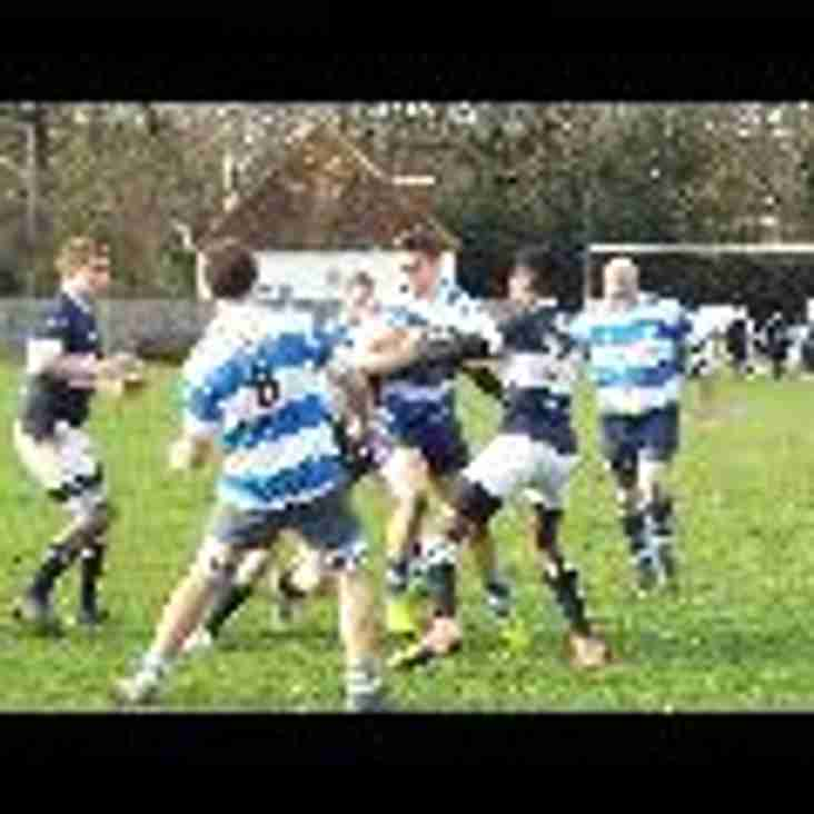 1XV go down to Old Dunstonians