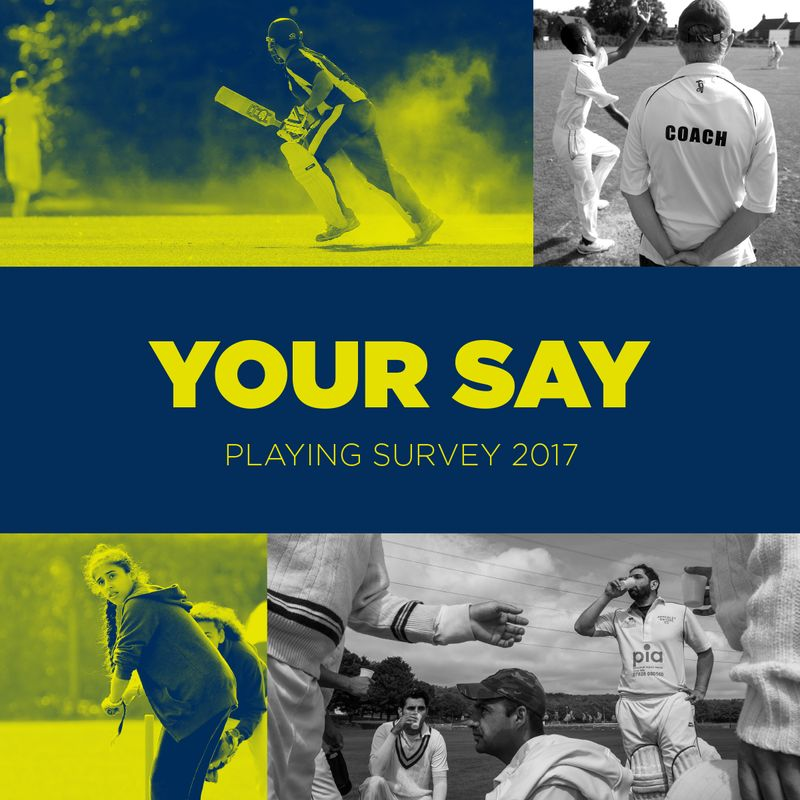 Cricket Playing Survey 2017 - Your Say