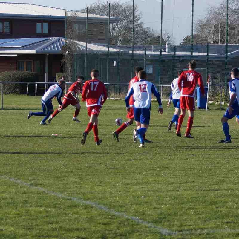 Gresford Athletic v Holyhead Hotspur 25.03.17  2:2