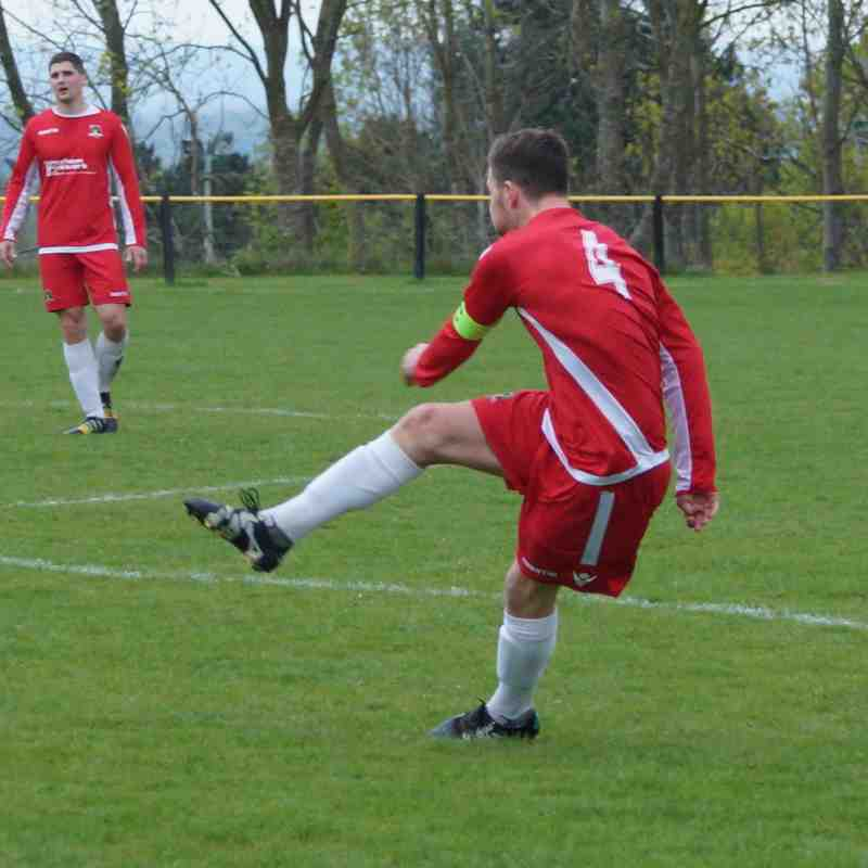 NEWFA Cup Semi Final Gresford v Buckley 03.05.17 Won 3..0