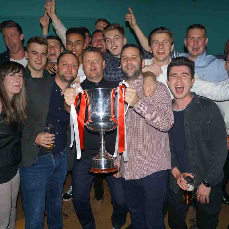 GAFC Presentation night 19.05.17
