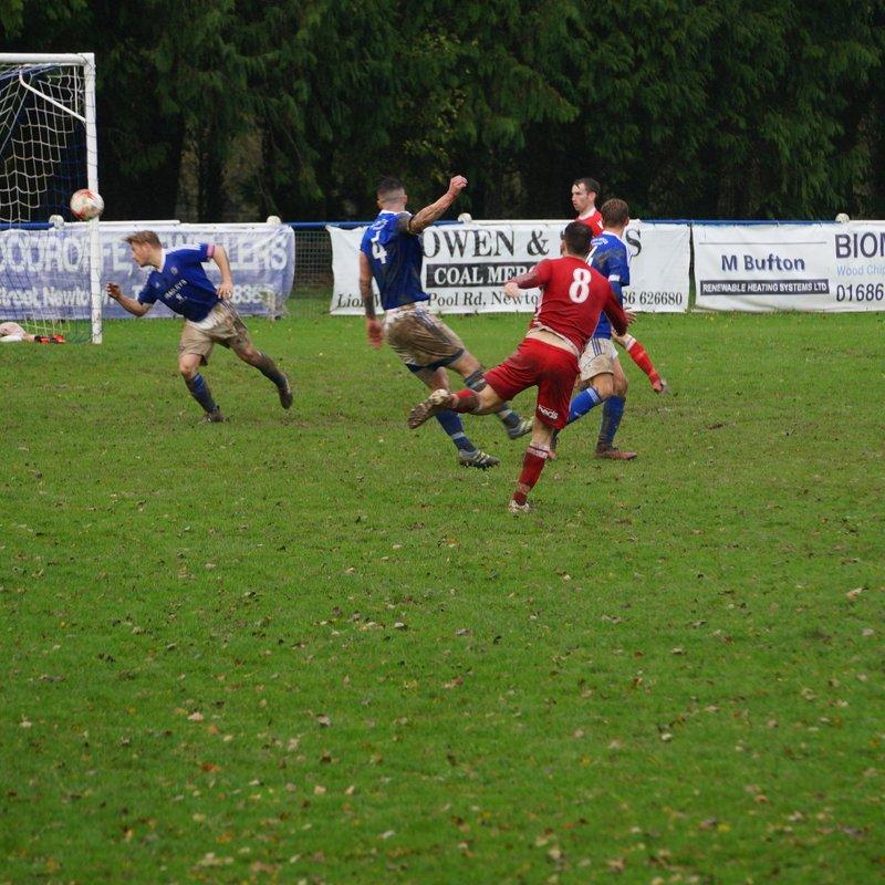 Caersws v Gresford 21.10.17 Won 3..1  League Cup 1