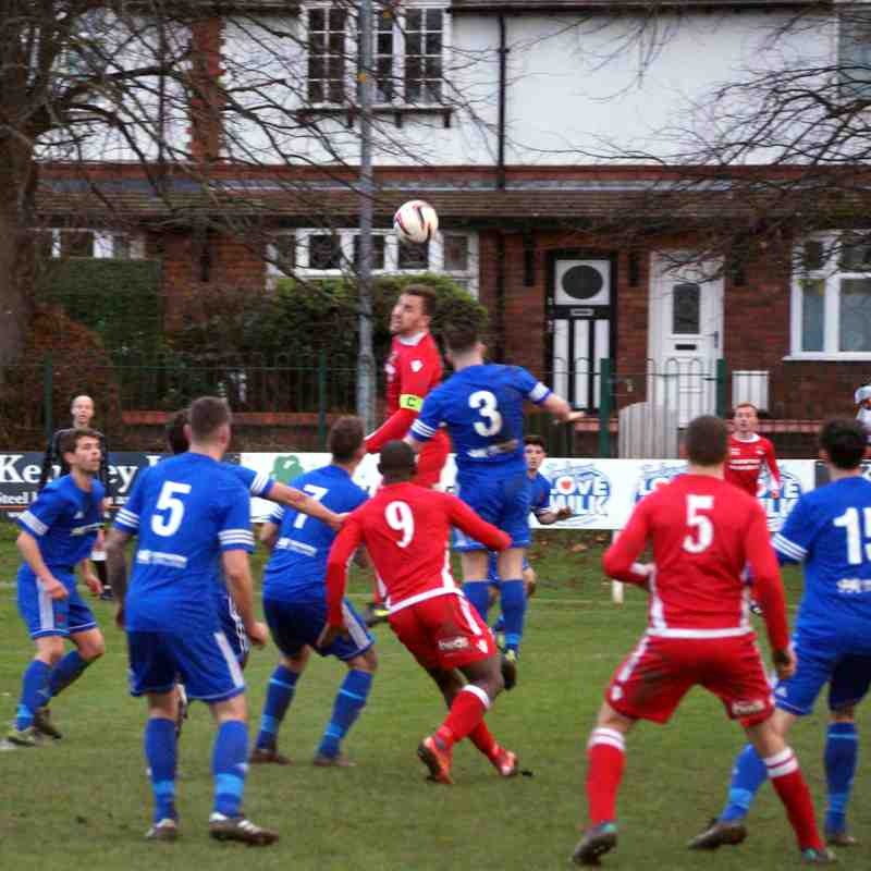 Gresford v Ruthin Town 18.11.17 Won 2..1