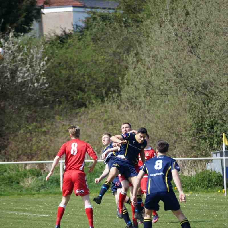 Llandudno Junction v Gresford 21.04.18 HGA Cup SF Won 8..2