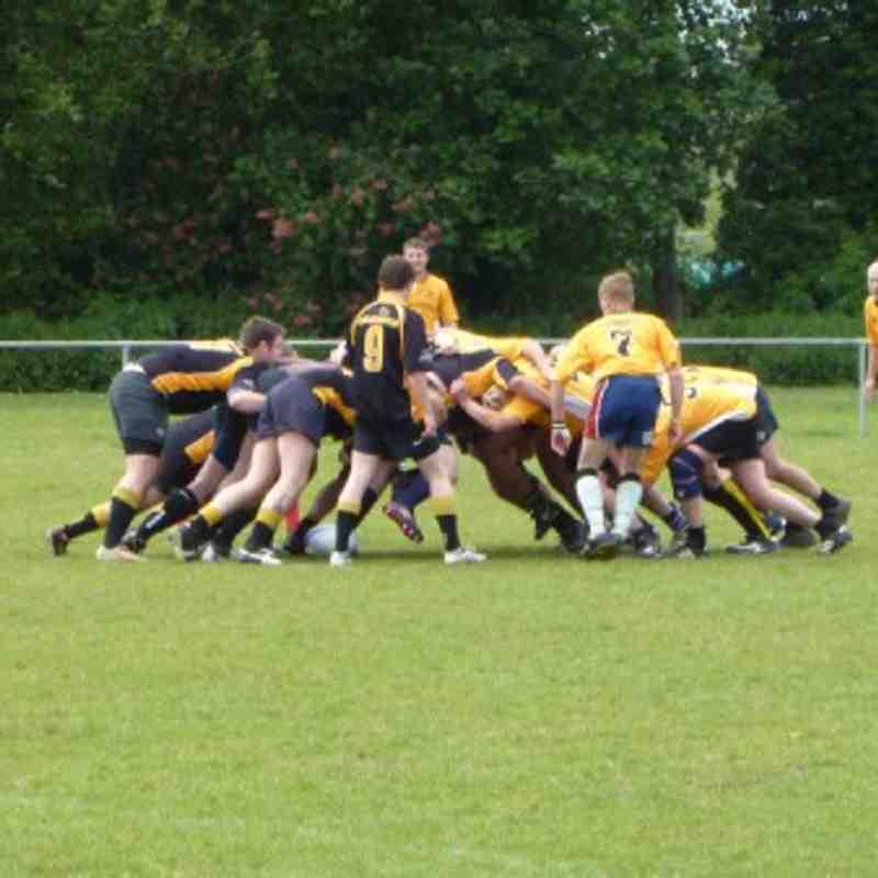 Northampton Casuals 3rd XV vs PTS Plumbing