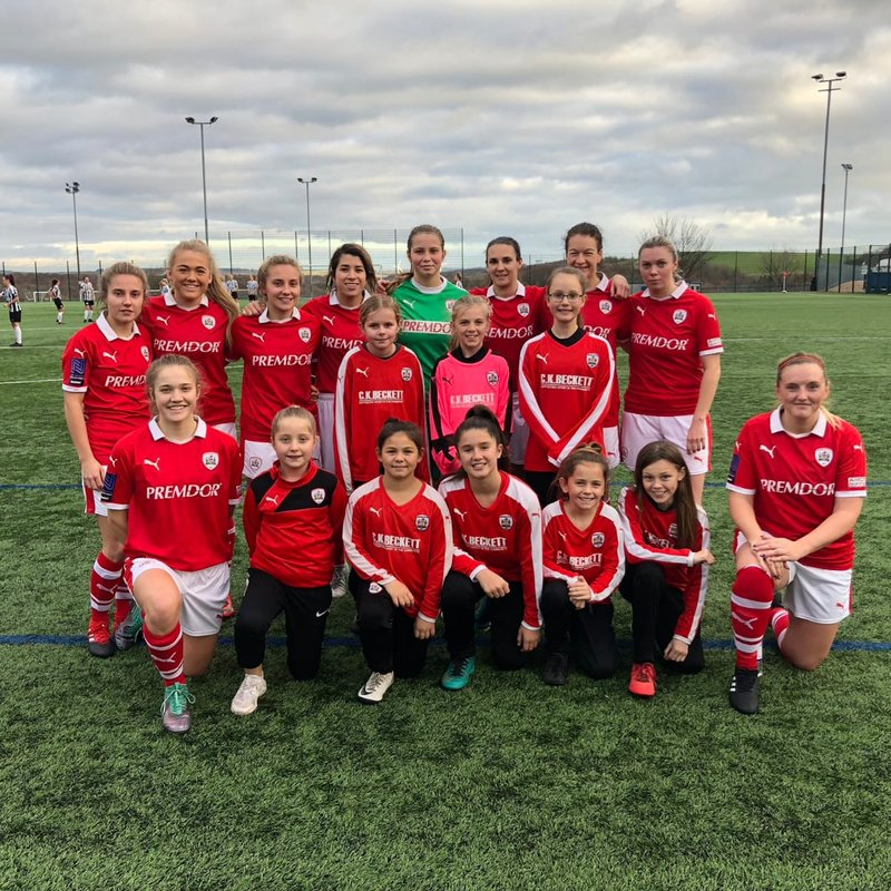 Barnsley FC Ladies U12 Blue   8   vs   2   Adwick Park Rangers Girls U12