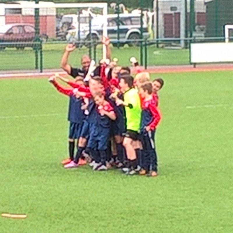 Excellent double winning achievement by U12's!!