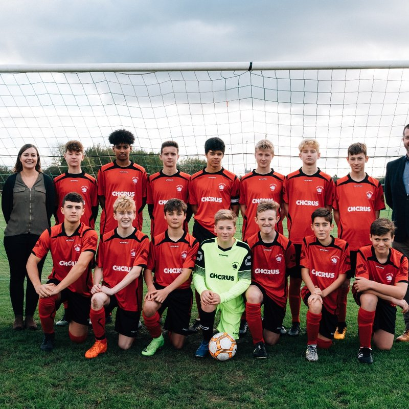 A big thank you to local tech company Chorus for sponsoring our Under 15's!!