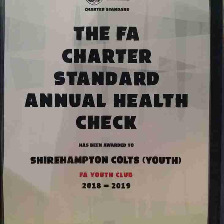 THE FA CHARTER STANDARD AWARD