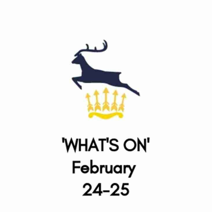 What's On At The Club, February 24-25