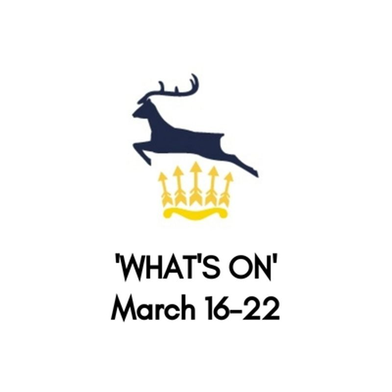 What's On At The Club, March 16-22