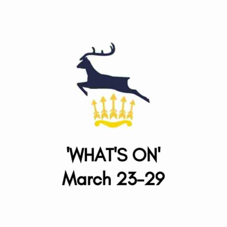 What's On At The Club, March 23-29