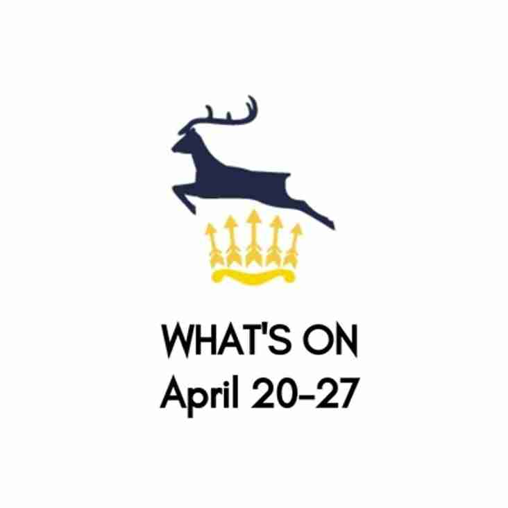 What's On At The Club, April 20-27