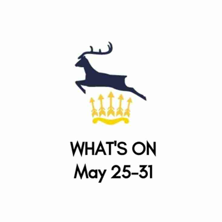 What's On At The Club, May 25-31