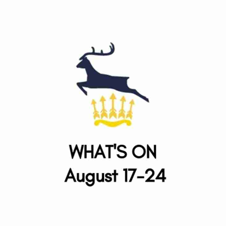What's On At The Club, August 17-24