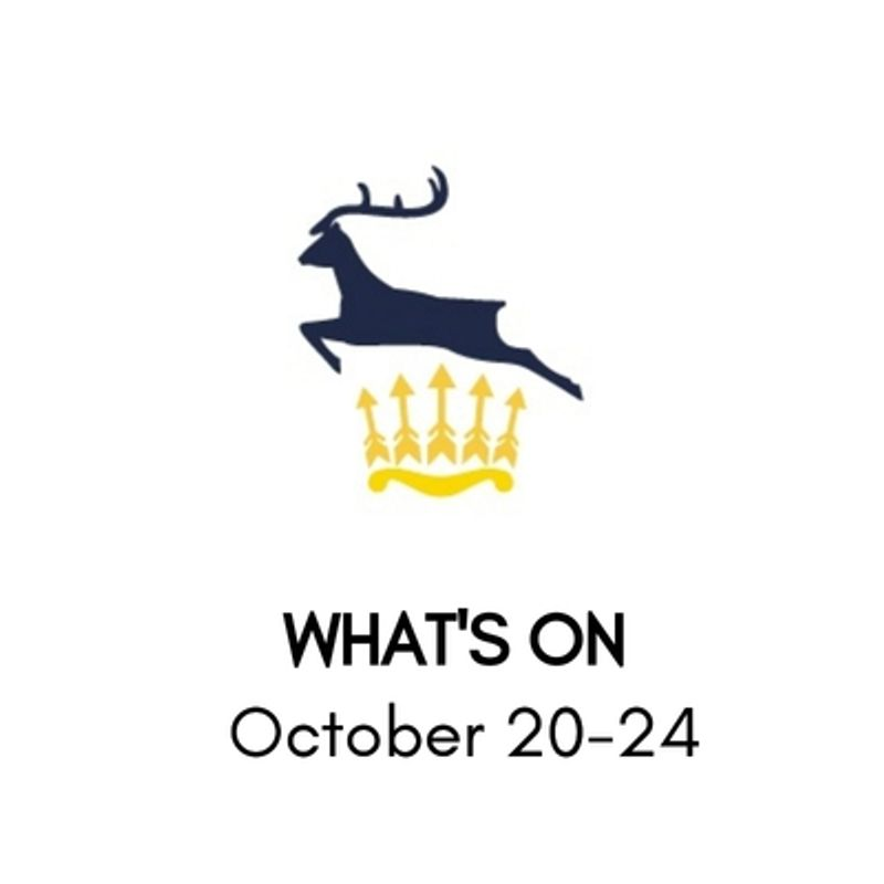 What's On At The Club, October 20-24