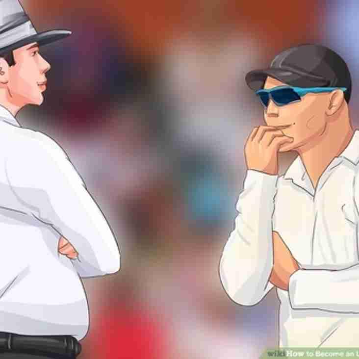 2019 Umpire Course