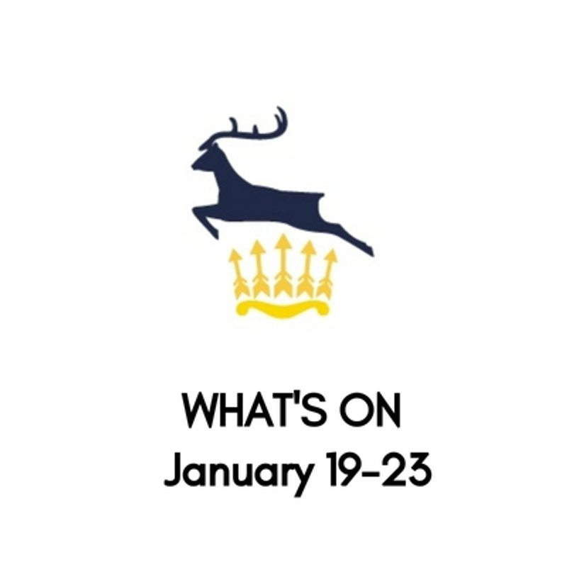 What's On At The Club, January 19-23