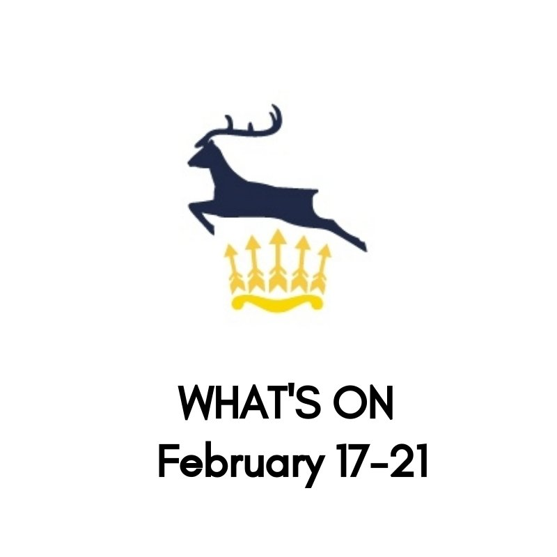 What's On At The Club, February 17-21