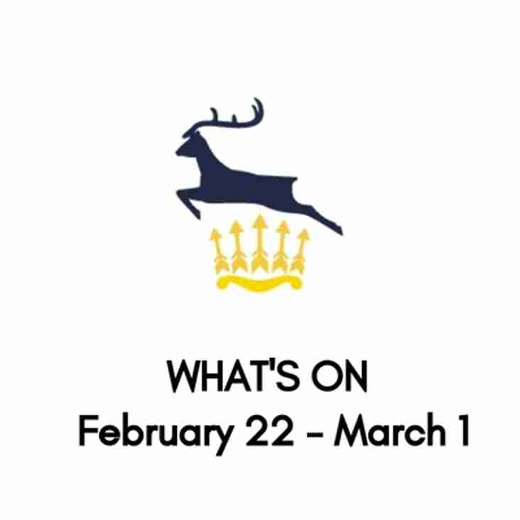 What's On At The Club, February 22-March 1