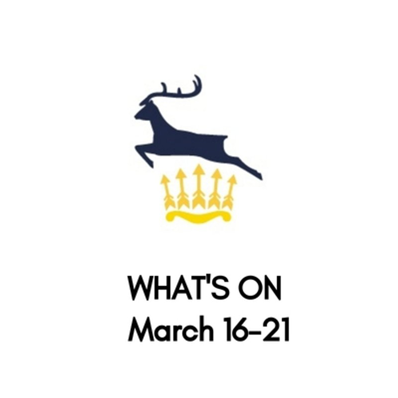 What's On At The Club, March 16-21