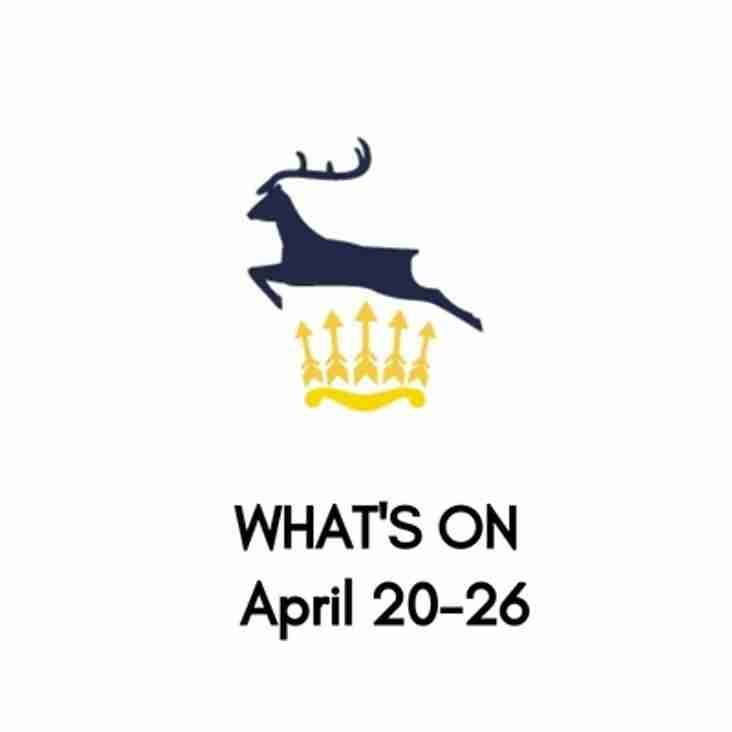 What's On At The Club, April 20-26