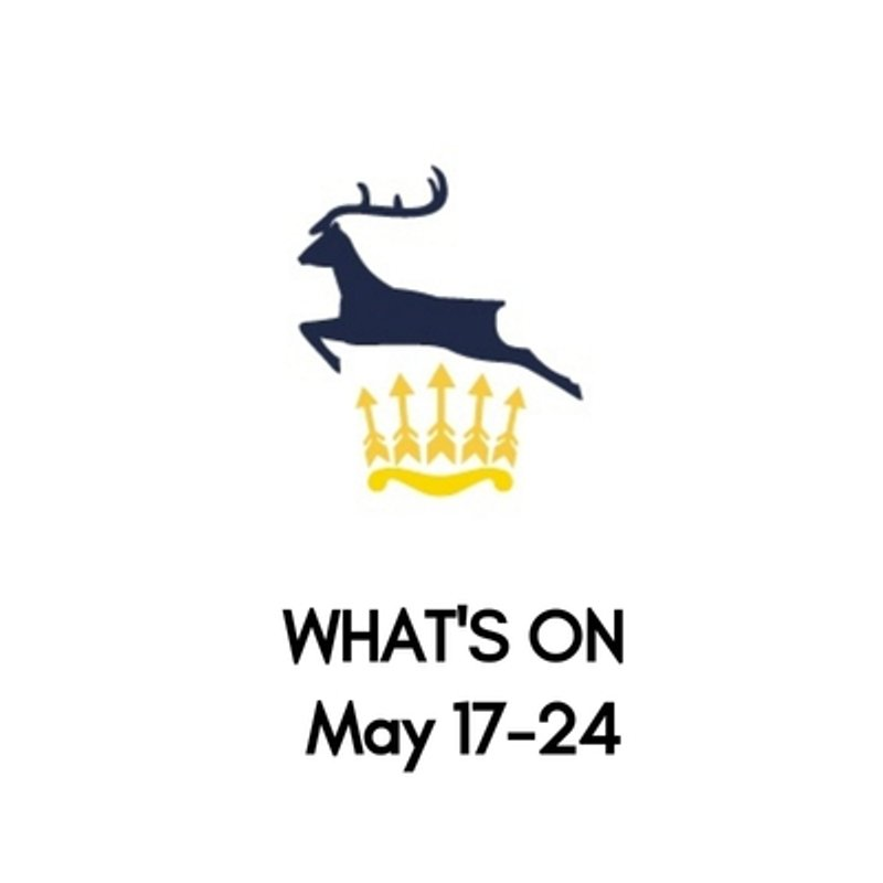 What's On At The Club, May 17-24
