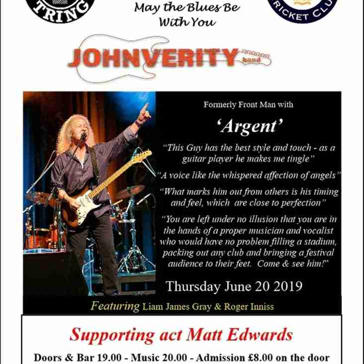 June 20 @ The Blues Bar