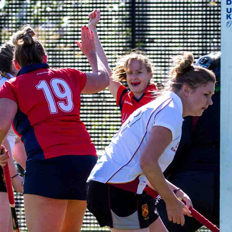 BEHC Ladies 3s 5-0 Old Borderians Ladies 2s