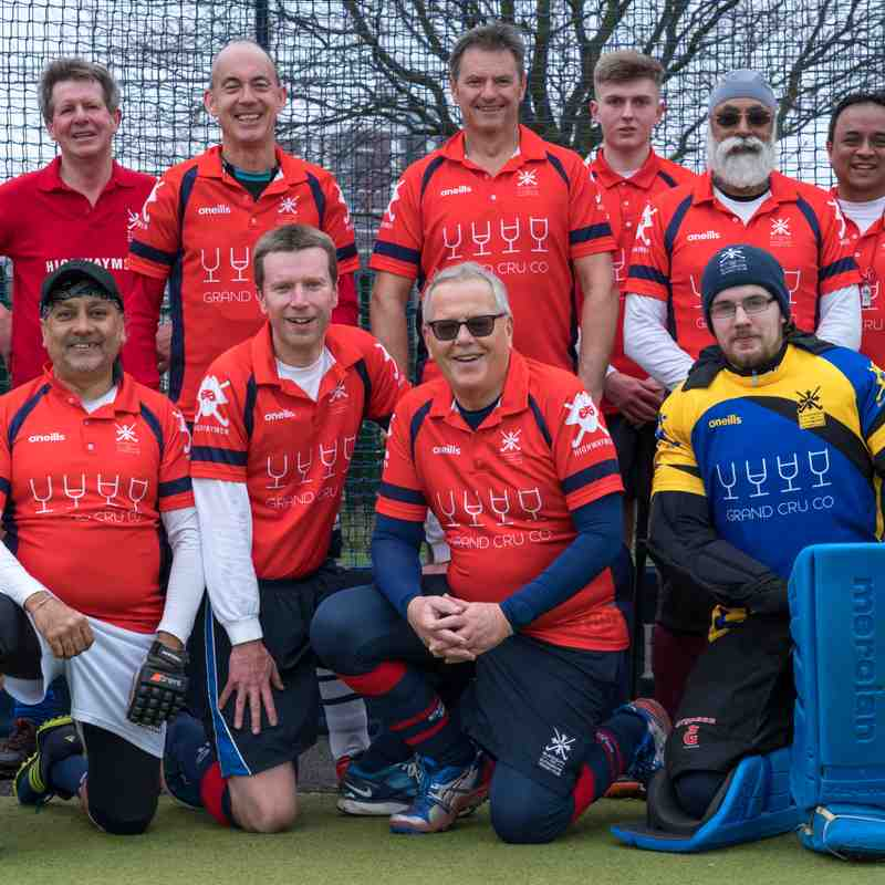 Highwaymen 7-1 Gillingham Anchorians M3s 16-02-2019