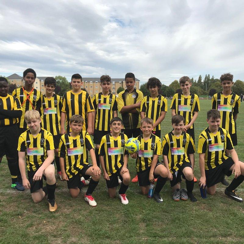 Everett Rovers FC vs. Bushey & Oxhey U13 Cobras